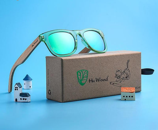 Zen Children Frame Wooden Sunglasses