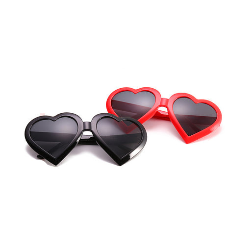 Kids Fashion Heart Shaped Sunglasses