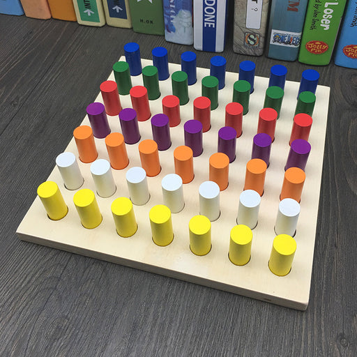 Montessori Color Cognition Movement Blocks - eBabyZoom