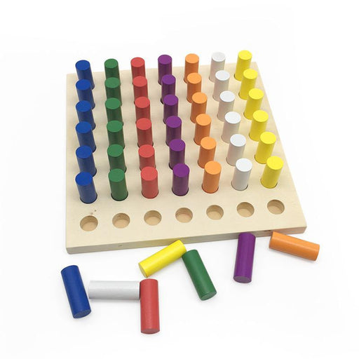 Montessori Color Cognition Movement Blocks