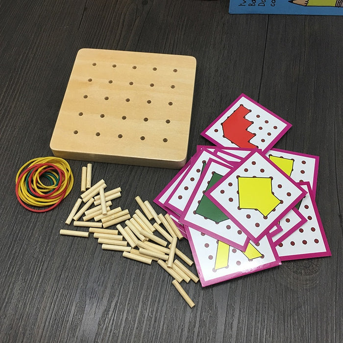 Geometry Mathematical Manipulative Board - eBabyZoom