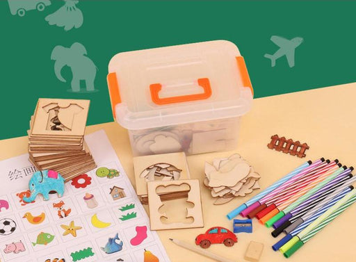 Montessori Drawing board Tools - eBabyZoom