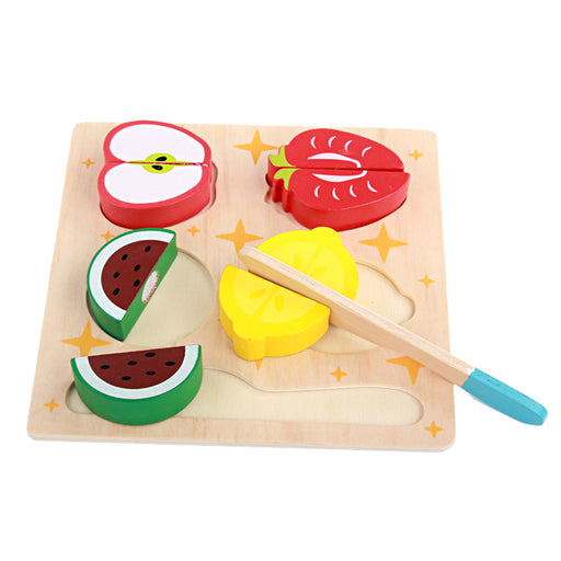 Wooden simulation cutting board Toy