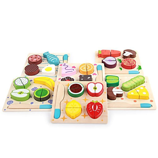 Wooden simulation cutting board Toy - eBabyZoom