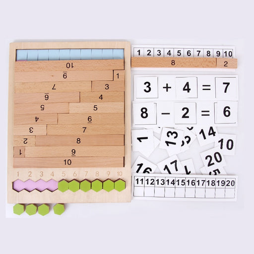 Montessori Advanced Math Set - eBabyZoom