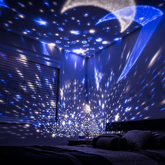 Luminous Starry Night Light Projector - eBabyZoom