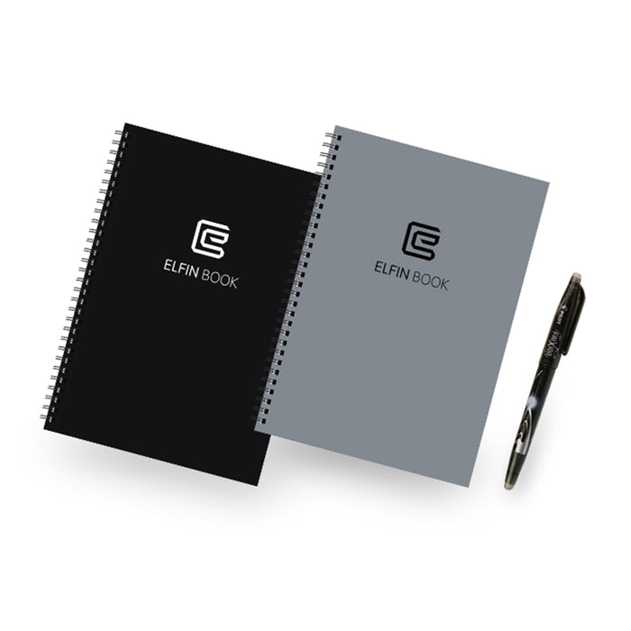 Elfinbook Erasable Notebook Paper - eBabyZoom