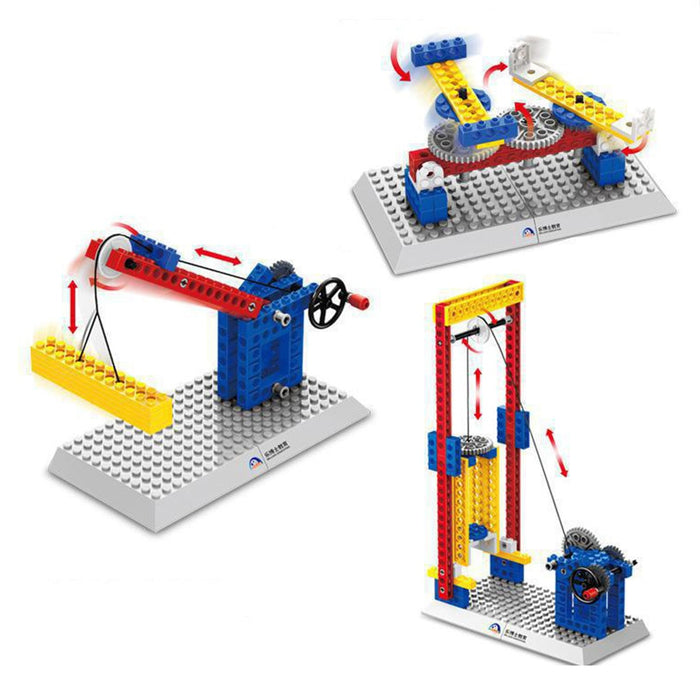 Mechanical Gear Technic Building Blocks - eBabyZoom