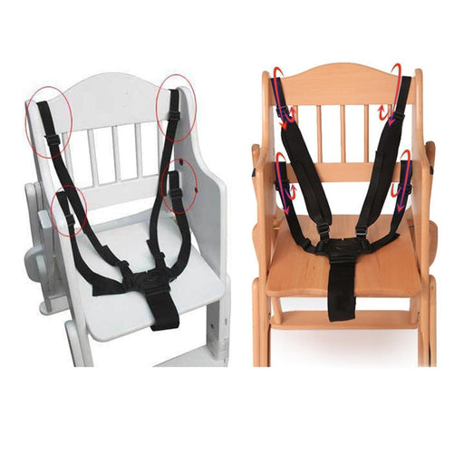 Baby Universal 5 Point Harness High Chair Belt - eBabyZoom