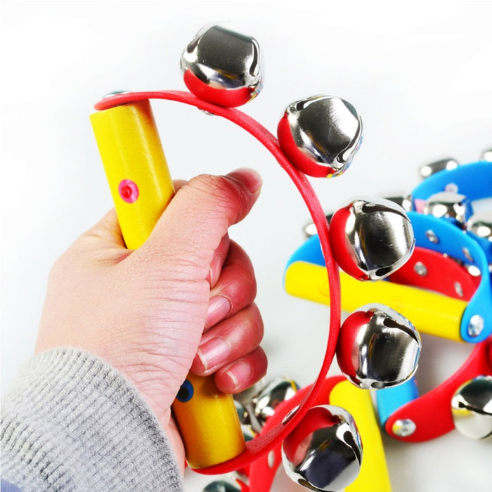 Musical colourful Baby handbell - eBabyZoom