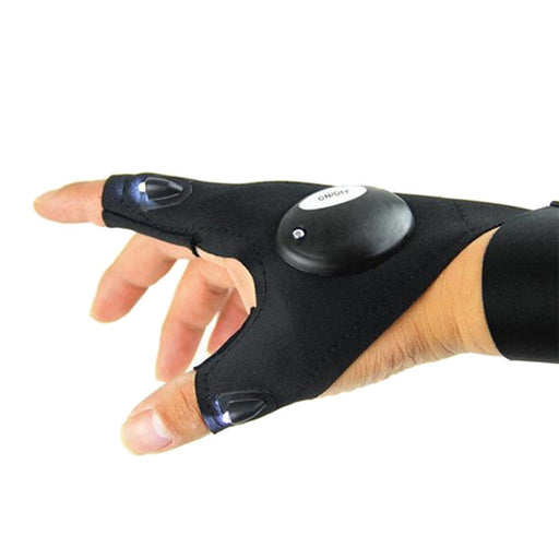 Magic LED Flashlight Fingerless Glove - eBabyZoom
