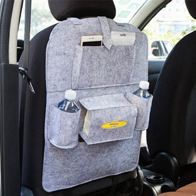 New Universal 1PC Car Auto Seat Back Protector Cover Car Interior Children Kick Mat Storage Bag Accessories Car Styling - eBabyZoom
