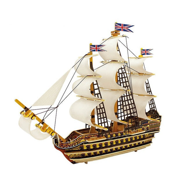 Fine Craft Assembly Ship Model Kit