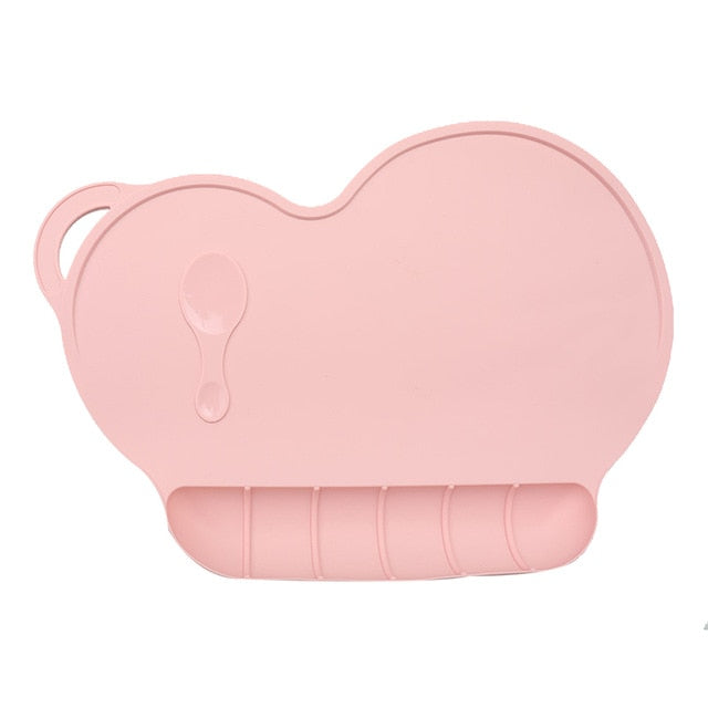 Baby Silicon Slip-resistant Placemat Bowl - eBabyZoom