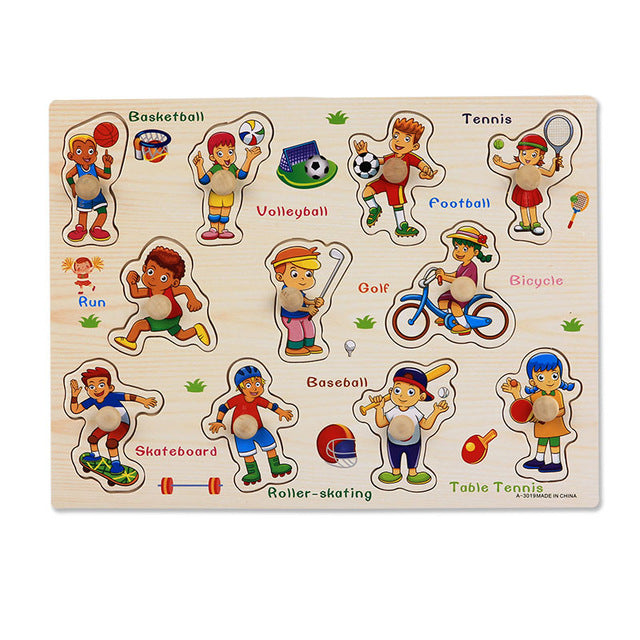Montessori Transport Puzzle Board Set - eBabyZoom