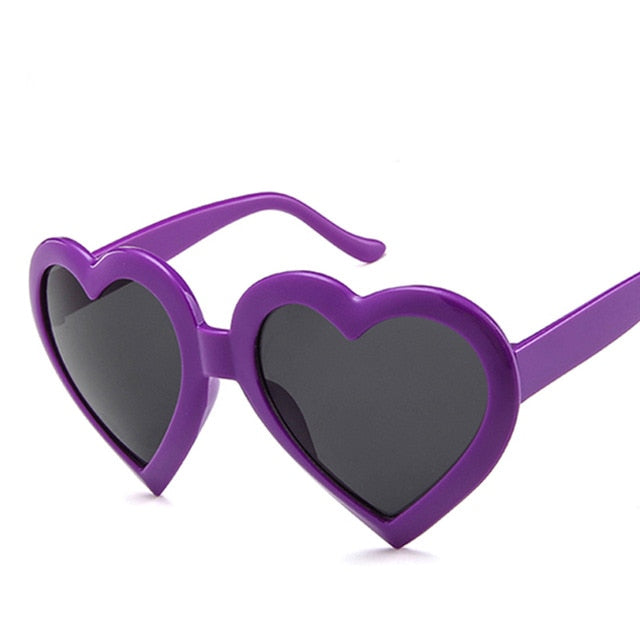 Kids Fashion Heart Shaped Sunglasses - eBabyZoom