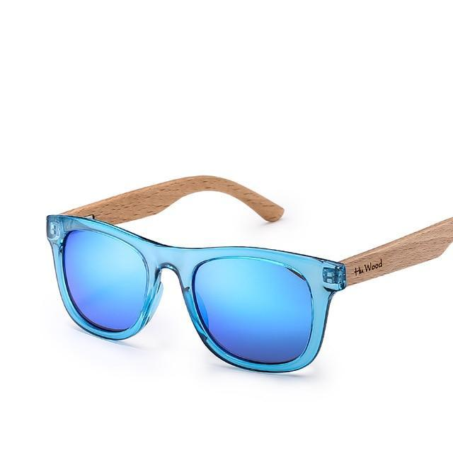 Zen Children Frame Wooden Sunglasses - eBabyZoom