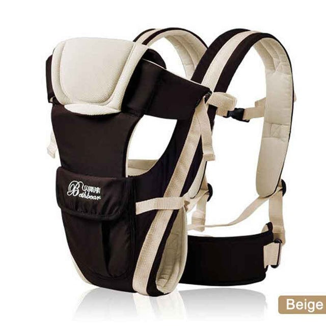 Beth Bear Breathable 4-in-1 Comfort Baby Carrier - eBabyZoom