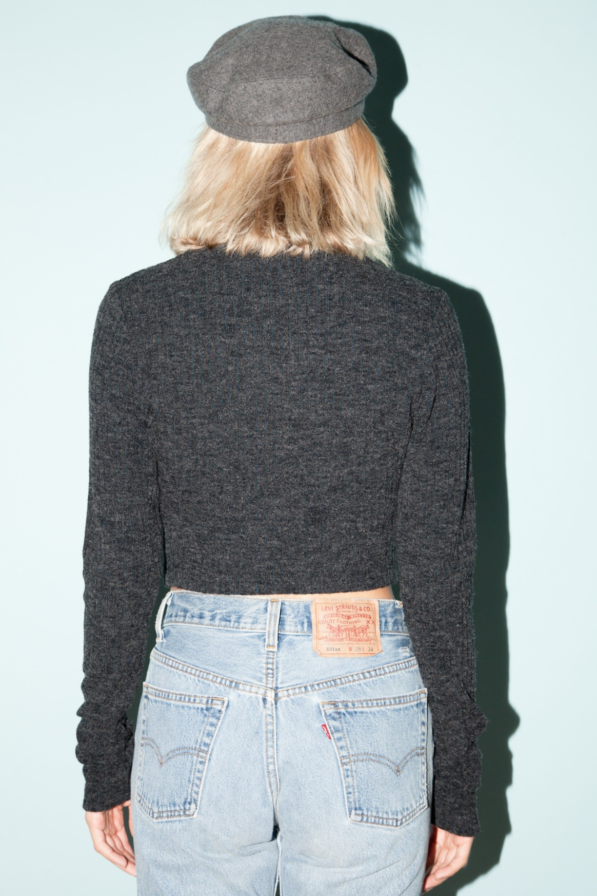 Josephine Crop Sweater