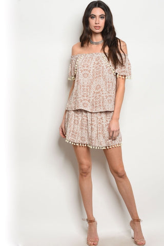 Rossetta and Lace Dress