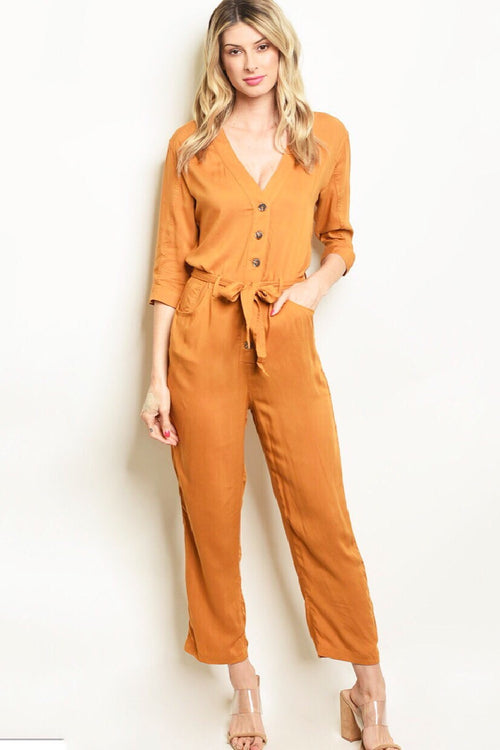 It's Just Me Utility Jumpsuit