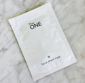 The ONE Facial Sheet mask