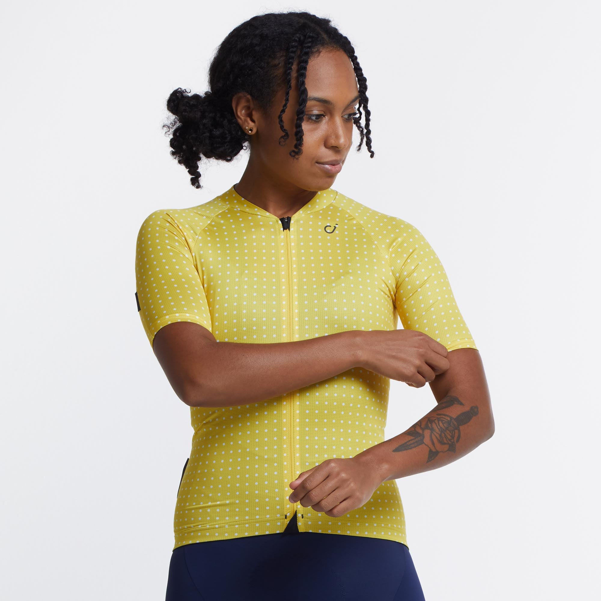 Women's Grid Dot Ultralight Jersey
