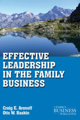 Effective Leadership in the Family Business