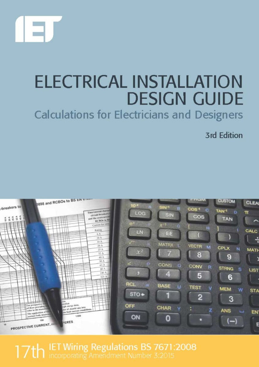 E Page 4 Brown Cran Iet Wiring Regulations Book Electrical Installation Design Guide