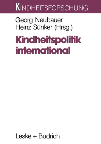 Kindheitspolitik international