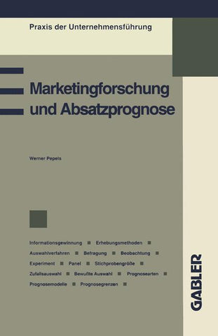Marketingforschung und Absatzprognose