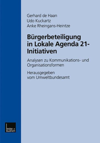 Bürgerbeteiligung in Lokale Agenda 21-Initiativen
