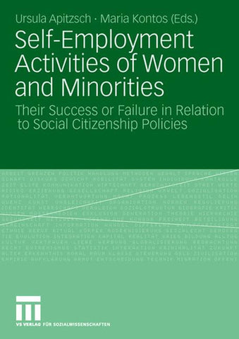 Self-Employment Activities of Women and Minorities