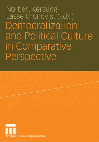 Democratization and Political Culture in Comparative Perspective