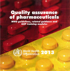 Quality Assurance of Pharmaceuticals 2013 [OP]