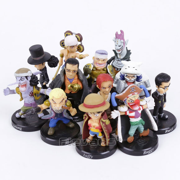 One Piece Characters Figurine Set