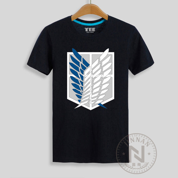 Survey Corps Logo T Shirt - Attack on Titan