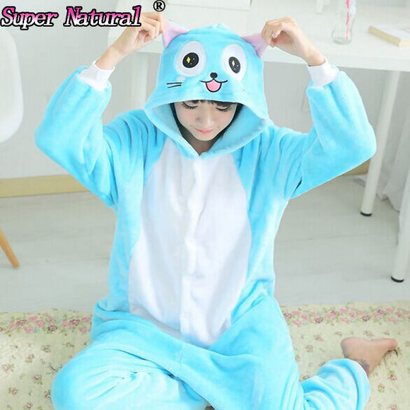 Fairy Tail - Happy Fur Costume / Pajamas