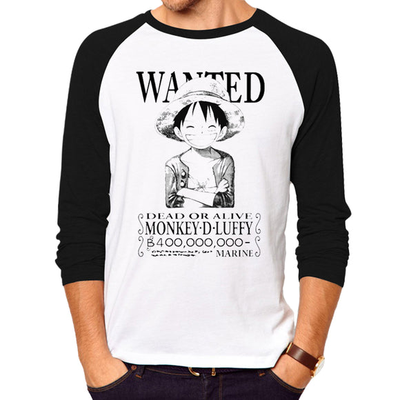 Luffy's Wanted Poster / Luffy Silhouette Shirt