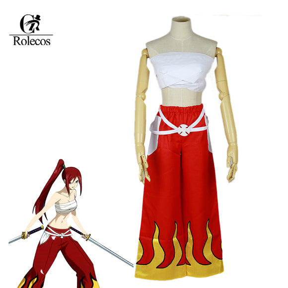 Erza Scarlet Cosplay Costume - Fairy Tail