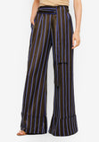 Pinstriped Tailored Pants