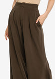 Olive Green Wide Leg Pants