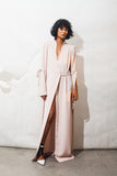 Blush Long Trench