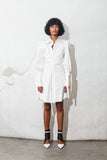 Midi Bishop Sleeve Shirtdress