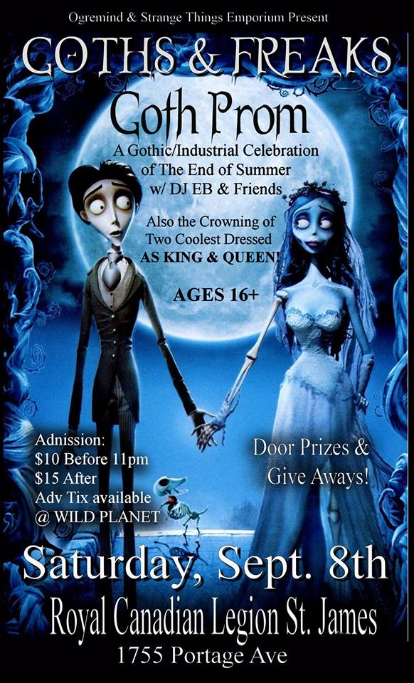 Goth Prom For All Ages