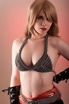 Chain Mail Bra-Lette - Strange Things Emporium