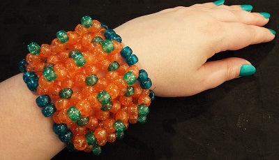 Spiked Out Candy Bracelets - Strange Things Emporium