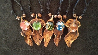 Leaf Philippines Necklaces - Strange Things Emporium