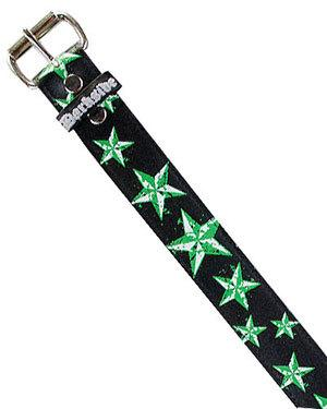 Black and Green Star Belt - Strange Things Emporium
