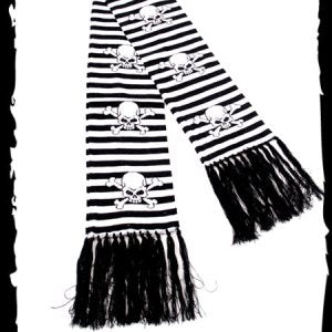 Skull Scarf - Strange Things Emporium